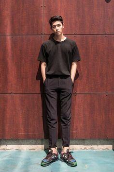 Outfits hombre, asian fashion, korean fashion men, korean men clothing, k. Korean Fashion Men, Korean Street Fashion, Mens Fashion Suits, Asian Fashion, Look Fashion, Trendy Fashion, Fashion Outfits, Korean Men Style, Fashion Ideas