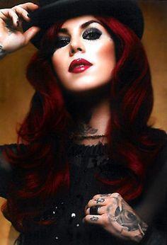 Kat Von D  Love this red!!!