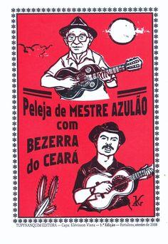 PELEJA DE MESTRE AZULÃO COM BEZERRA DO CEARÁ, Mestre Azulão, Tupynanquim Editora, 16 páginas