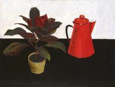 Kroton i dzbanek 1984; olej, płótno; 130x170 cm fot. dzięki uprzejmości Galerii Atak