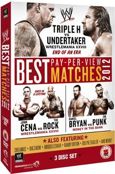 Television Review - WWE: The Best PPV Matches Of 2012 (DVD)