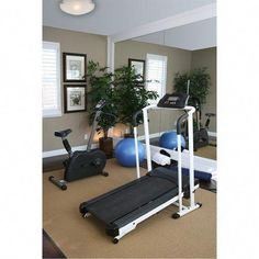 Home Gym Basement Low Ceiling . Home Gym Basement Low Ceiling . An Exercise Room Inside A Residential Home Stock Workout Room Home, Gym Room At Home, Home Gym Decor, Workout Rooms, At Home Workouts, Exercise Rooms, Basement Gym, Basement Ideas, Basement Plans