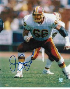 Joe Jacoby Washington Redskins Autographed 8x10 Photo -Running-