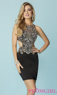 Tiffany Homecoming 27157 Cut Out Beaded Cocktail Dress Affordable Prom Dresses, Prom Dress Shopping, Glamour, Prom Girl, Sweet Dress, Couture Dresses, Homecoming Dresses, Pretty Dresses, Designer Dresses