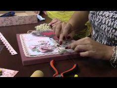 Mulher.com 03/10/2014 - Caixa com Scrap Decor por Marisa Magalhães - Parte 2 - YouTube