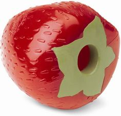 Planet Dog Orbee-Tuff Strawberry with Treat Spot Dog Toy $9