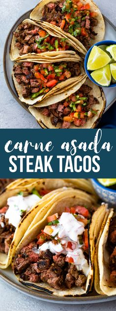 Carne Asada Tacos - Don't You Want to Have a Fit Body Carne Asada Marinade, Carne Asada Tacos Recipe, Carne Asada Steak, Carne Asada Burrito, Flank Steak Tacos, Camp Chef, Meat Recipes, Mexican Food Recipes, Cooking Recipes