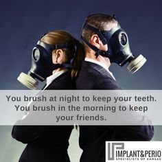 There more than one reason to brush (and floss) your teeth on a regular basis!