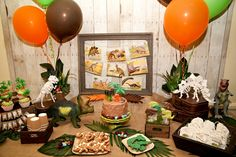 dinosaur party ideas | Dinosaur Party at the Natural History Museum by Quaintly Garcia