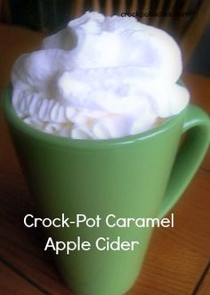 Crock-Pot Ladies Crock-Pot Caramel Apple Cider