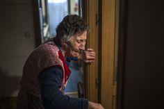 El retrato del dolor de Carmen: así se hizo y así conmocionó a las redes FOTO: Andrés Kudacki (AP)