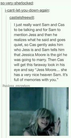 WHO KEEPS MAKING THESE. | Stab me in the heart why don't you | Supernatural