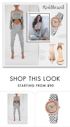 """""""RickiBrazil"""" by monmondefou ❤ liked on Polyvore featuring Liliana"""