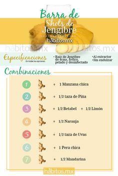 Shots que reemplazan el café. Vía www.habitos.mx