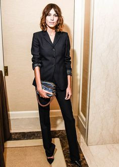 """chungit-up: """" Alexa Chung at the British Fashion Council GQ Dinner in New York City   February 10, 2015 """""""