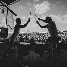 """Dueling Drums"" Rico Rodriguez and Travis Hawley of Night Riots 