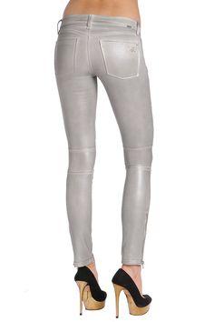 Shop DL1961 Premium Denim Hazel in Alloy Women Skinny Jeans