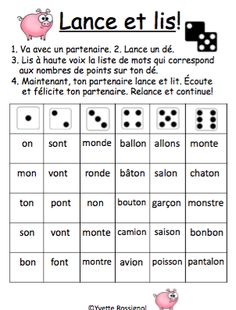 Learn French Videos Funny English Language French Videos Tips Fun French Teaching Resources, Teaching French, Teaching Spanish, Teaching Reading, Spanish Activities, French Lessons, Spanish Lessons, French Language Learning, Spanish Language