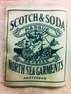 Scotch and Soda Woven Label