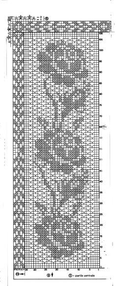 Crochet Circles, Crochet Motifs, Crochet Chart, Filet Crochet, Crochet Doilies, Crochet Flowers, Crochet Stitches, Knit Crochet, Crochet Patterns
