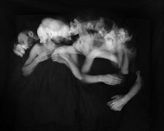 While You Were Sleeping - long exposures of couples sleeping by Paul Schneggenburger