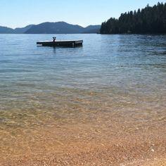 Priest lake heaven.