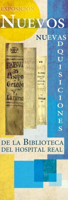 """Exposición bibliográfica """"Nuevos"""", con los ejemplares adquiridos en los últimos cinco años por la Biblioteca del Hospital Real (2014). #bibliotecaugr #bugeventos"""