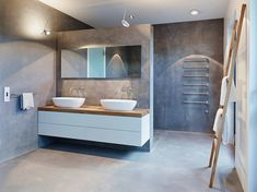 moderne Badkamer door HONEYandSPICE innenarchitektur + design