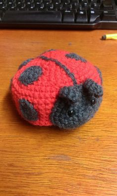 [Free Pattern] This Lady Bug Is Just Too Sweet! - Knit And Crochet Daily