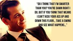 Αγαπημένη Harvey Specter Quote