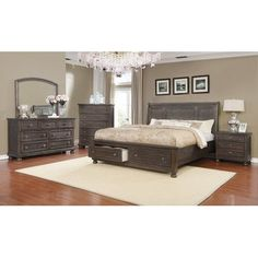 Gracie Oaks Mapes Queen Sleigh 4 Piece Bedroom Set The Effective Pictures We Offer You About bedroom furniture 2019 A quality picture can tell you many things. You can find the most beautiful pictures 5 Piece Bedroom Set, Kids Bedroom Sets, Bedroom Furniture Sets, Bedroom Ideas, Bedroom Designs, Cheap Furniture, Discount Furniture, Home Furniture, Kitchen Furniture