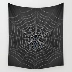 Spider Tribal Wall Tapestry by lemonlungdesigns Tapestry Design, Wall Tapestries, Beautiful Wall, Types Of Art, Framed Art Prints, Spider, Random Stuff, Mandala, Sculptures