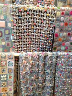 A few of the beautiful Sophie Digard Scarves avaliable