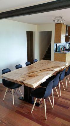 LOMBARDY POPLAR DINING TABLE