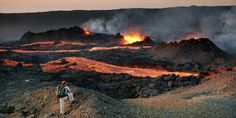 One of the world's most active volcanoes, Reunion Island