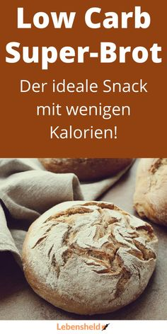 Low carb Brot – Schnell und einfach zubereitet - Low carb - The perfect low bread. The ideal low carb snack. Paleo Bread, Low Carb Bread, Paleo Pizza, Paleo Pancakes, Paleo Food, Low Carb Recipes, Baking Recipes, Quick Recipes, Appetizer Recipes