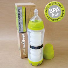 selbsterwärmende Babyflasche