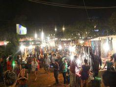 A Huge Night Market
