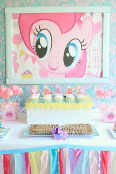 In case Madi is still obsessed with MLP for her bday...Party On! » My Little Pony Inspired Assembled
