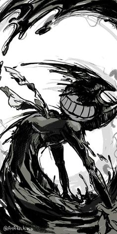 Bendy the ink demon B)