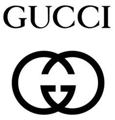 Gucci logo -- one of my top fashion logos. Gucci Logo, Guccio Gucci, Chanel Logo, Gucci Brand, Gucci Sale, Coco Chanel, Gucci Outlet, Chanel Art, Logo Branding