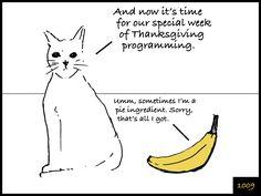 Cat and Banana episode 1009. http://www.facebook.com/catandbanana