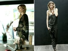 Honestly, how does designer and mindreader Birgitte Raben Olrik know exactly what I'd take with me on a trip to Bali, a safari in Africa, a journey to Kathmandu, or an adventure to Peru? Silk jumpsuits, linen shorts and sheer coverups, paired with tribal jewelry, leather sandals and straw hats, has my inner wanderlust itching for another getaway.