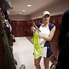 adidas Women is behind-the-scenes with Caroline Wozniacki & Andrea Petković!