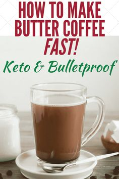 Butter coffee is a way to support a higher-fat, lower-carb diet and beat cravings for a sugar-laden breakfast. This drink keeps you satisfied and won't break your intermittent fast. Black Coffee Benefits, Green Coffee Extract, Keto Drink, Salty Snacks, Bulletproof Coffee, Eat Fat, No Carb Diets, Healthy Drinks, Healthy Weight Loss