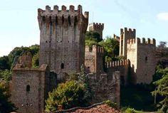 Cidade medieval  Veneto Itália