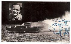 Donald Campbell Autograph Good People, Amazing People, Boat Engine, Drag Cars, Father And Son, Blue Bird, British Car, Lakes, Motors
