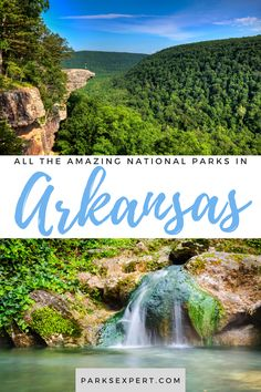 Did you know there are 7 national parks in Arkansas? Click here for the list, including things to do and how to get to each of the Arkansas national parks. Travel Articles, Travel Tips, Places To Travel, Travel Destinations, Road Trip Usa, Outdoor Woman, Get Outside, Usa Travel, Amazing Places