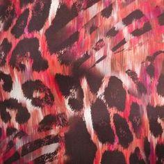 Abstract animal skin print WGSN