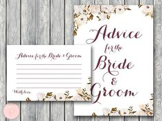 WD99-Advice-for-Bride-Groom-Card-&-Sign